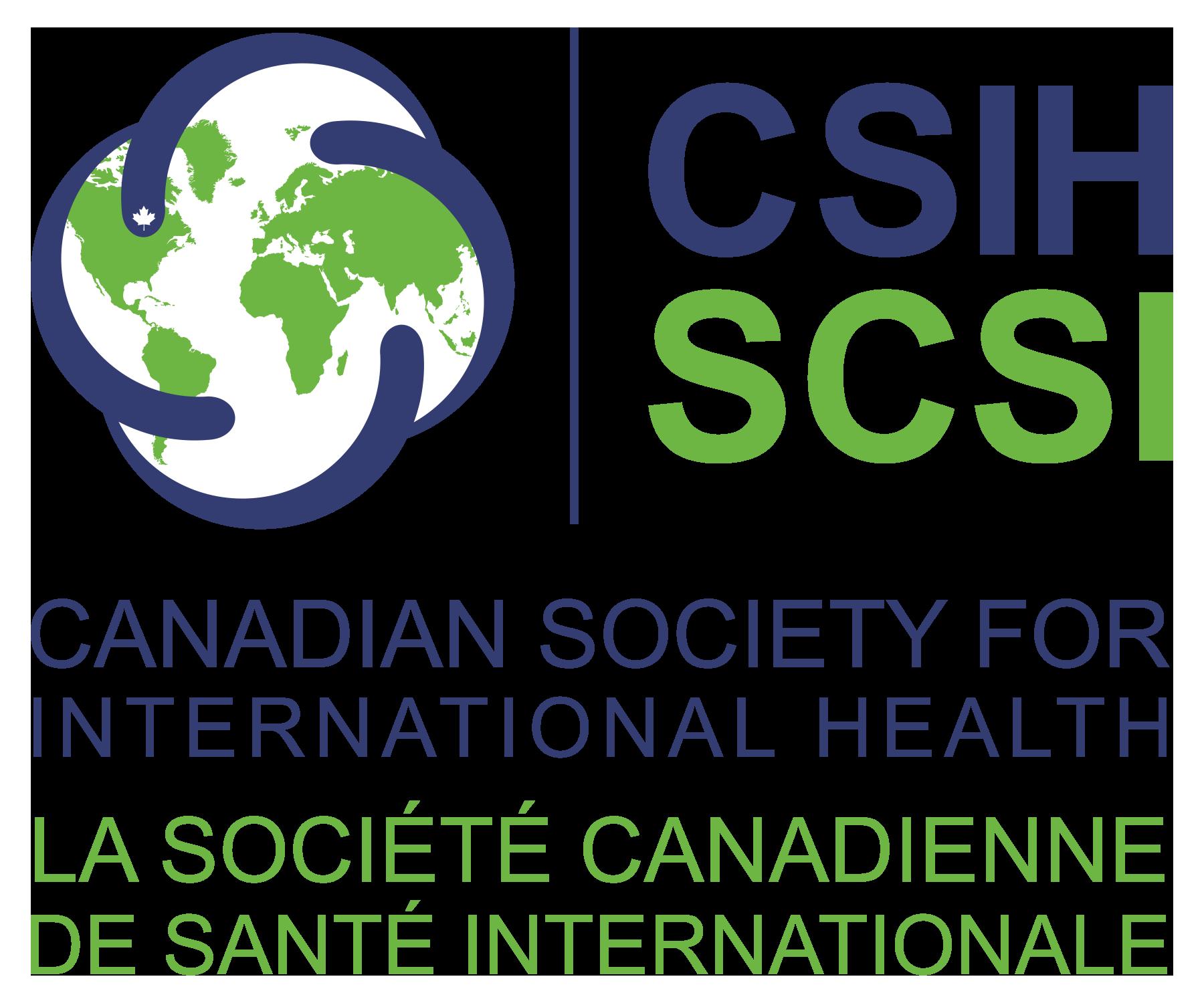 La Société canadienne de santé internationale - Logo