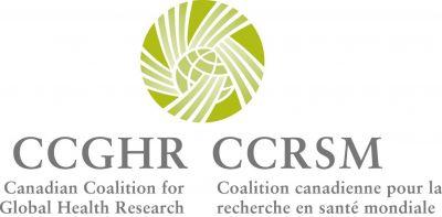 Coalition canadienne pour la recherche en santé mondiale - Logo
