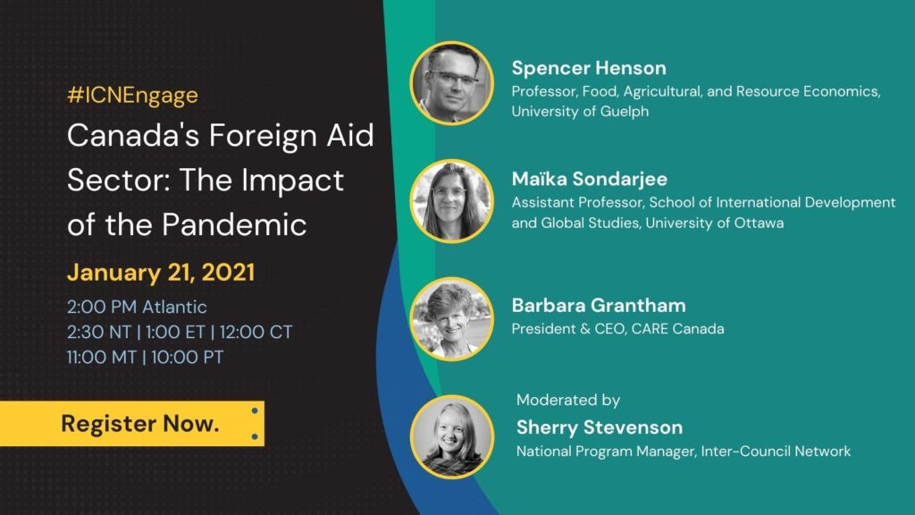 Canada's Foreign Aid Sector: The Impact of the Pandemic