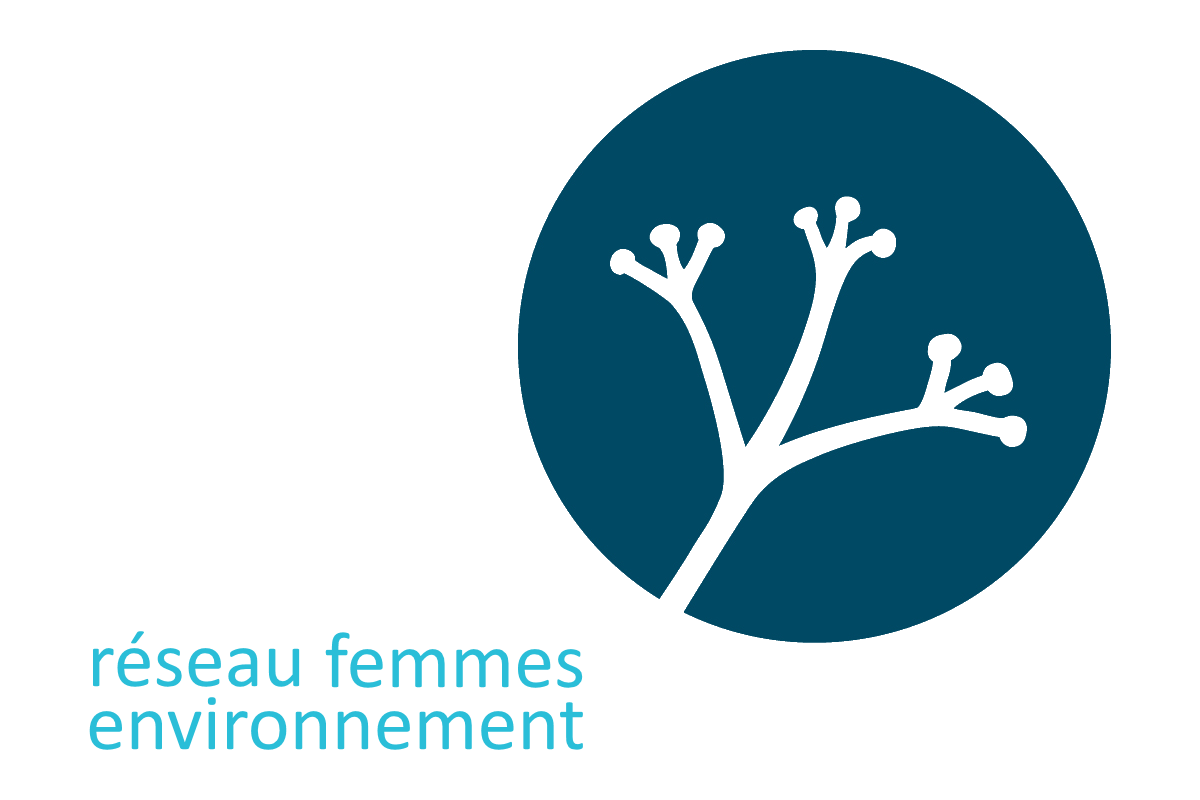 Réseau des femmes en environnement - Logo